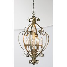 <strong>Eurofase</strong> Seraphine 6 Light Foyer Pendant