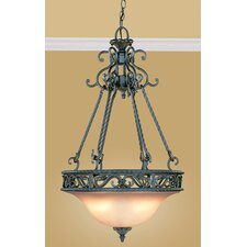 Oxford 3 Light Inverted Pendant