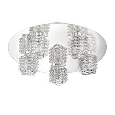 Lenza 5 Light Flush Mount
