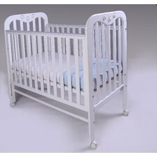 Jenny Dropside Cot in White