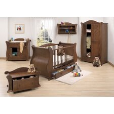 Marie 7 Piece Nursery Set in Walnut