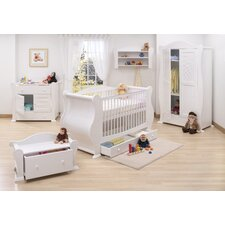 Marie 7 Piece Nursery Set in White