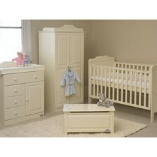 Alexia 6 Piece Nursery Set in Vanilla