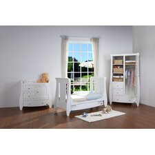 Lucas 3 Piece Nursery Set in Matte White