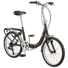 <strong>Schwinn</strong> Folding Loop - Aluminum Frame 7 Speed Cruiser Bike