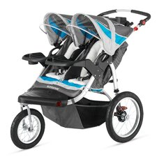<strong>Schwinn</strong> Turismo Swivel Wheel Double Jogging Stroller