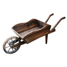 Wheel Barrow Rectangular Planter