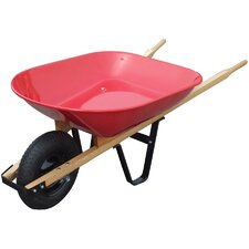 4 Cu. ft. Tray Wheelbarrow