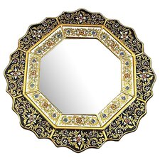 <strong>Novica</strong> Black Star Mirror