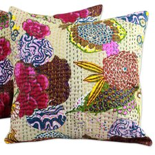 <strong>Novica</strong> The Lalit Kumar Cotton Cotton Cushion Cover