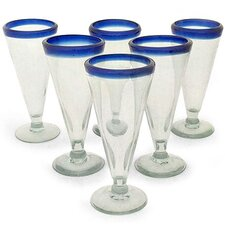 Bohemia Beer Glasses (Set of 6)