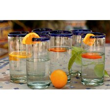 <strong>Novica</strong> Cobalt Classics Drinking Glasses (Set of 6)