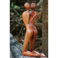 <strong>Novica</strong> Love in Love Sculpture