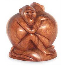 Romancing Monkey Figurine
