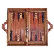 'Inner Secrets' Wood Backgammon Set