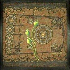 Holy Foot by Parinya Nanjai Graphic Art