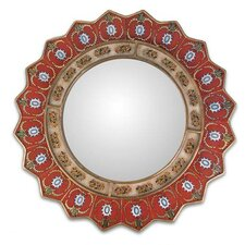 Ruby Medallion Mirror
