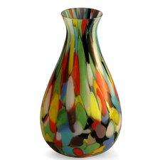 Carnival Murano Hand Blown Vase