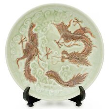 <strong>Novica</strong> Dragon Journeys Plate