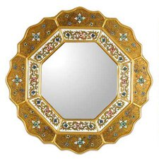 <strong>Novica</strong> Golden Star Mirror