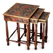 Paradise 3 Piece Nesting Tables