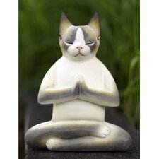 'Cat in Meditation' Figurine