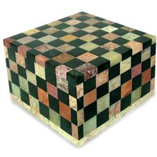 <strong>Novica</strong> Checkmate Large Jewelry Box