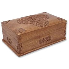 <strong>Novica</strong> Medallion Jewelry Box