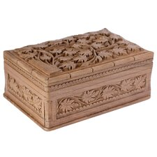 M Ayub Artisan Ivy Fantasy Wood Jewelry Box