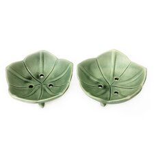 Putu Oka Mahendra Artisan Soap Dishes (Set of 2)