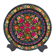 Adelina Rendon Artisan Wonderful World Wood Plate