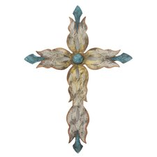 <strong>Novica</strong> Alejandro de Esesarte Mission Cross Wall Décor