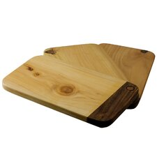 Jan and Maria Jose Artisan Swivels Cypress Wood Chopping Boards (Set of 3)