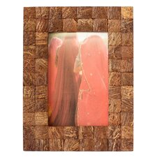 Kamal Artisan Natures Muse Coconut Shell Photo Frame