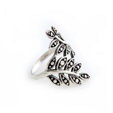 The Kenari Artisan Sterling Silver Wrap Near You Ring