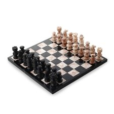 <strong>Novica</strong> The Sierra Family Glorious Battle Chess Set