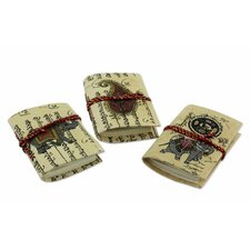 The Asha Prabha Handmade Paper Journals (3 Piece)
