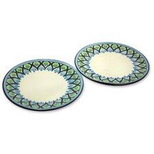 """The Roberto Perez 10.3"""" Ceramic Dinner Plate"""
