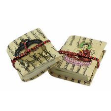 The Asha Prabha Handmade Paper Journals (2 Piece)
