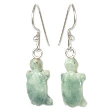 <strong>Novica</strong> The Ruben and Gilda Perez Jade Dangle Earrings