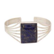 The Shanker Lapis Lazuli Cuff Bracelet