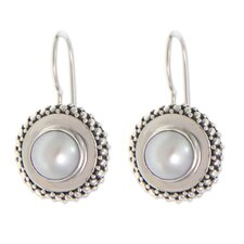 The Komang Suastra Cultured Pearl Drop Earrings