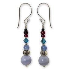 The Siriporn Gemstone Dangle Earrings