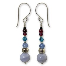 The Siriporn Gemstone Dangle Earrings