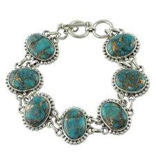 The Shanker Turquoise Link Bracelet