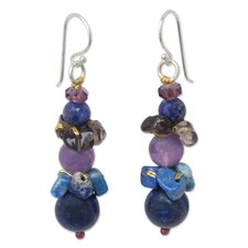 The Sasina Gemstone Beaded Earrings