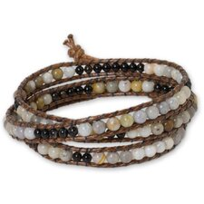 The Siriporn Gemstone Wrap Bracelet