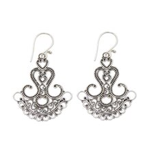 The Komang Wijayana Filigree Earrings