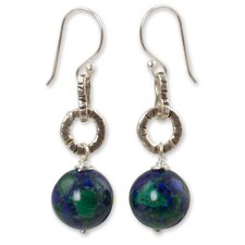 The Siriporn Azurite Dangle Earrings