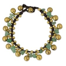 The Tiraphan Hasub Aventurine Beaded Bracelet